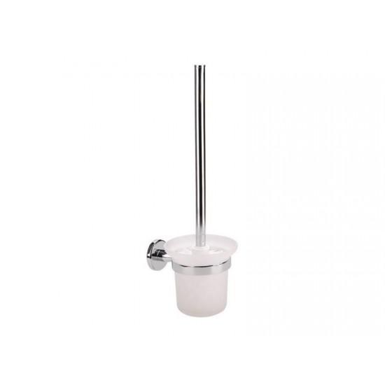 Držiak na WC kefu, 150x115x410mm, chrom, FRESHHH