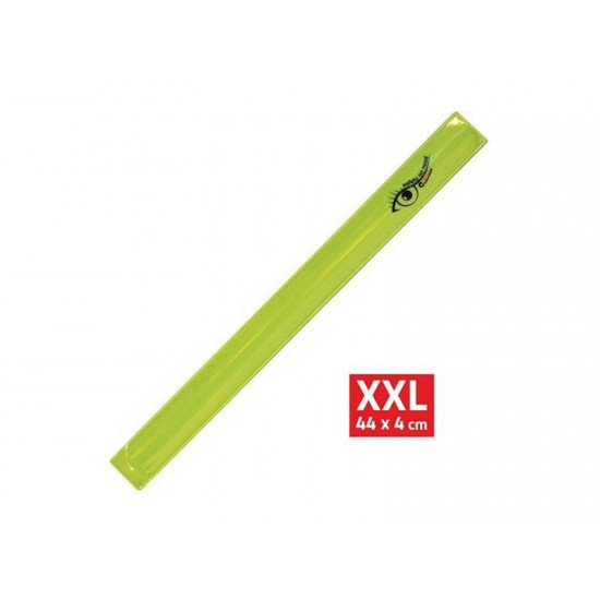 Reflexný pásik ROLLER XXL 4x44cm žltý