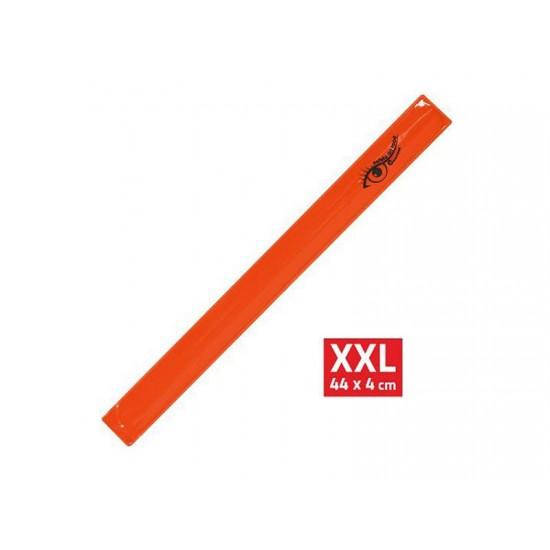 Reflexný pásik ROLLER XXL 4x44cm oranžový