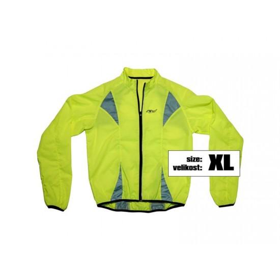 Bunda XL reflexná žltá S.O.R.
