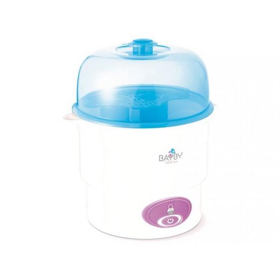 Sterilizátor dojčenských fliaš BAYBY BBS 3010 elektrický, parní