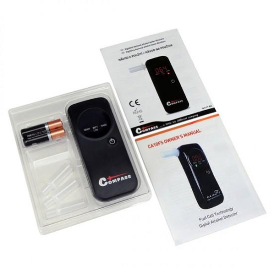 Tester alkoholu AlcoZero - elektrochemický senzor