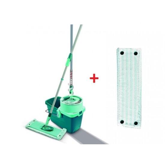 Mop sada LEIFHEIT CLEAN TWIST XL + vedro s náhradou na mop MICRO DUO 52023