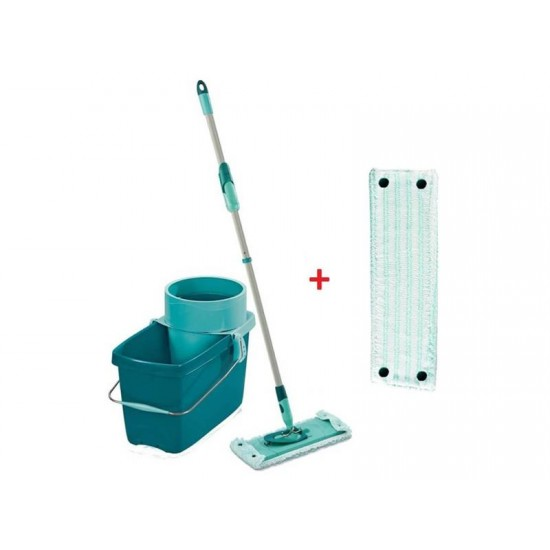 Mop sada LEIFHEIT CLEAN TWIST EXTRA SOFT M + náhrada MICRO DUO 52024