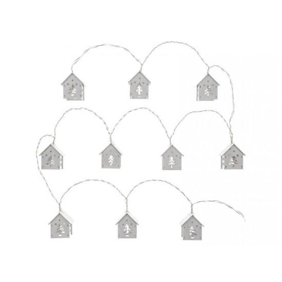 Reťaz vianočné domčeky RETLUX RXL 268