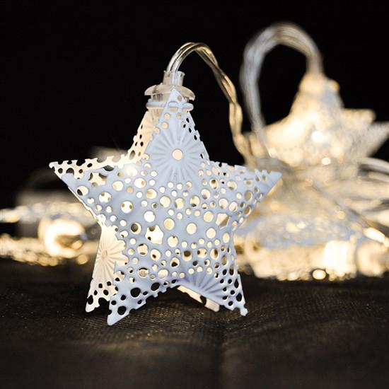 Reťaz vianočné hviezdy SOLIGHT 1V224