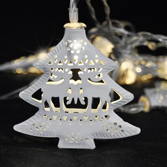 Reťaz vianočné stromčeky SOLIGHT 1V225
