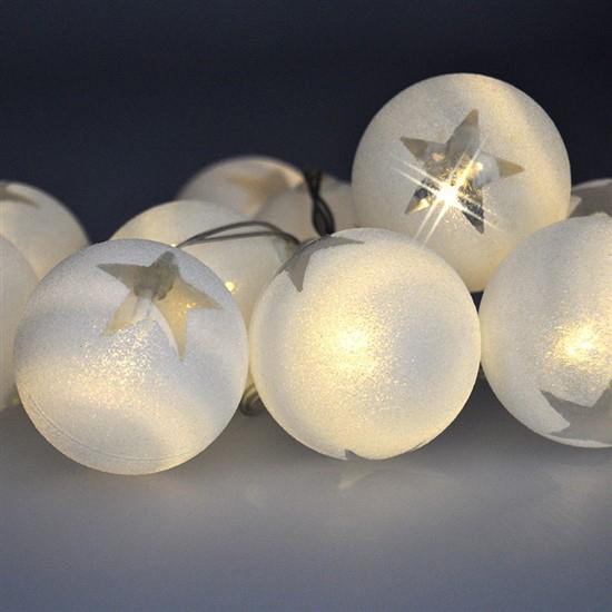 Reťaz vianočné gule SOLIGHT 1V226
