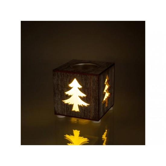 Podstavec na sviečky stromček RETLUX RXL 353 WW