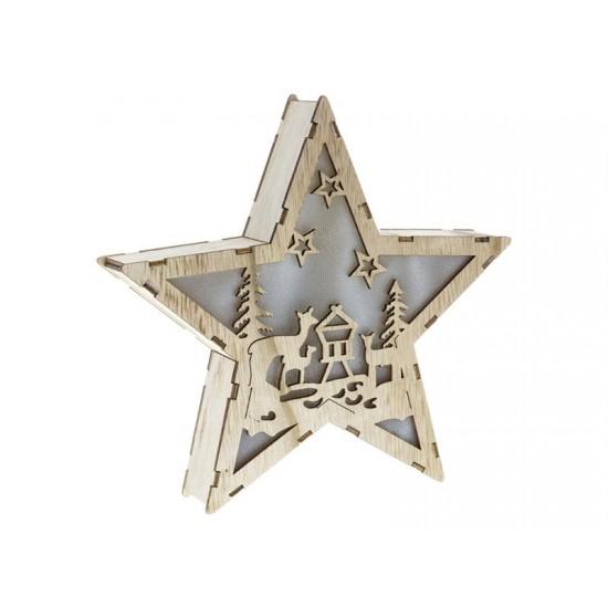 Dekorácia vianočná hviezda RETLUX RXL 321 WW