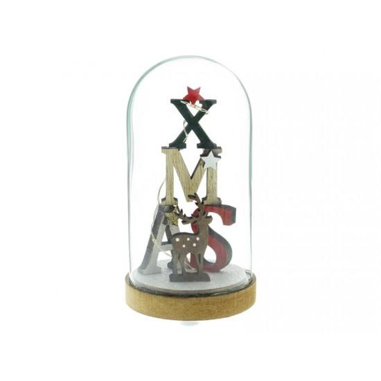 Dekorácia sklenená Xmas 3LED RETLUX RXL 317 WW
